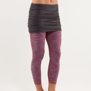 Lululemon Yin To You Crops Wee Are From Space Dye